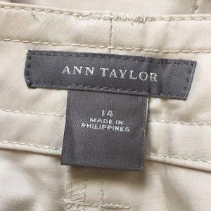 Ann Taylor Skirts - Ann Taylor Button Up A-line Skirt